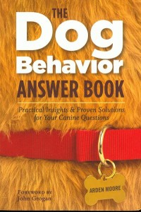 Book Cover Dog Behavior Answers Book
